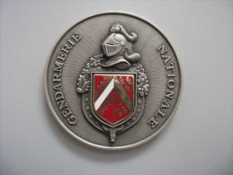 Médaille De Table Gendarmerie Alsace - Police & Gendarmerie