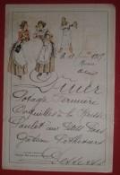 Menu Du 18 Février 1917   -    Cacao Chouao / Marie Brizard Et Roger - Menus