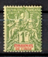 Inde  Yvert 13* ; Cote 13.00€ Voir Scan - India (1892-1954)