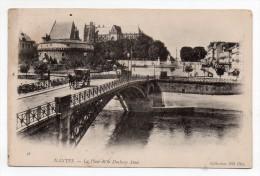 Cpa Pionnière 44 - Nantes - La Place De La Duchesse Anne - 1903 - Nantes