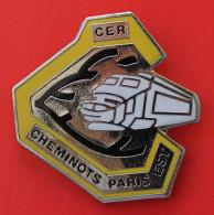 Pin´s Train TGV Cheminots Paris Est - TGV
