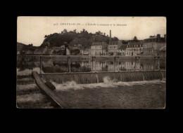 29 - CHATEAULIN - Echelle à Saumons - Déversoir - Châteaulin