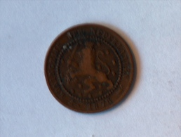 PAYS BAS 1 CENT 1878 - [ 3] 1815-… : Kingdom Of The Netherlands