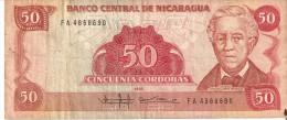 BILLETE DE NICARAGUA DE 50 CORDOBAS DEL AÑO 1985 (BANKNOTE) - Nicaragua