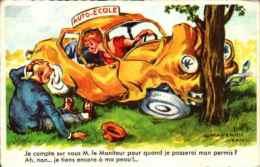 Chaperon Jean - Automobile, Je Compte Sur Vous M Le Moniteur Pour Quand Je Passerais Le Permis - Chaperon, Jean