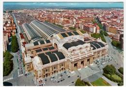 MILANO - STAZIONE CENTRALE - 1964 - Gares - Sans Trains