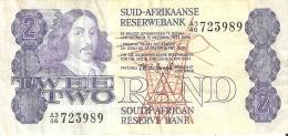 BILLETE DE SURAFRICA DE 2 RAND (BANKNOTE) - Suráfrica