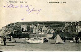 N°37141 -cpa Arromanches -la Plage- - Arromanches