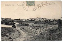 GALLARGUES (30) - VUE GENERALE - Gallargues-le-Montueux