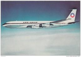 AVION AVIATION  - BOEING 707    Compagnie LAN-CHILE  CHILI - 1946-....: Moderne