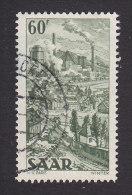 Saar, Scott #219, Used, Industry Of Saar, Issued 1951 - Ohne Zuordnung