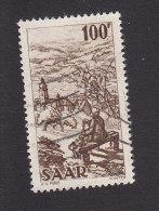 Saar, Scott #220, Used, Industry Of Saar, Issued 1949 - Ohne Zuordnung