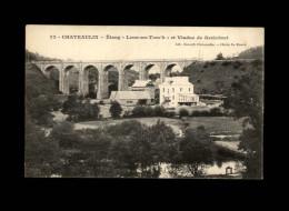 29 - CHATEAULIN - Etang De Lenn-an-Torc'h - Viaduc De Kerlobret - Châteaulin