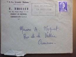 Paray Le Monial Saone Et Loire : Son Pélerinage Sa Basilique Son Grès Cérame - Marcophilie (Lettres)