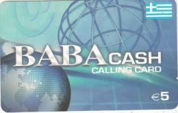 GREECE - Baba Cash, OTO Prepaid Card 5 Euro, Used - Greece