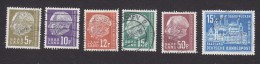 Saar, Scott #291, 293-295, 302, 320, Used, Heuss And Old And New City Hall, Issued 1957, 1959 - Ohne Zuordnung
