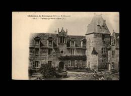 29 - CLEDER - Château - Tronjoly - Travaux - Terrassement - Cléder