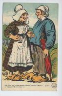 CPA HUMOUR ILLUSTRATEUR GRIFF - BON SENS PAYSAN - CIRCULEE VERS 1910 - - Griff
