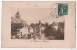 ESSONNES - L'Eglise Et L'Essonne - Essonnes