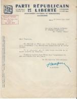 Ferguson/ Plan Marschall/Lettre D´intervention Auprés De La Production Industrielle/Obtention D´un Tracteur/1949   AC78 - Tracteurs