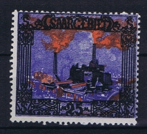 Deutsches Reich Saargebiet, Mi 69 MH/* - 1920-35 League Of Nations