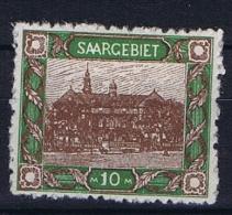 Deutsches Reich Saargebiet, Mi 68A MH/* - 1920-35 League Of Nations