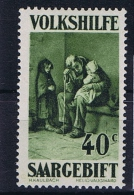 Deutsches Reich Saargebiet, Mi 135 I MH/* 1929 Plattenfehler SAARGEBIFT - 1920-35 League Of Nations