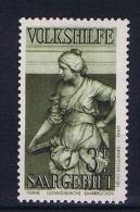 Deutsches Reich Saargebiet, Mi 176  MH/* 1934 Volkshilfe - 1920-35 League Of Nations