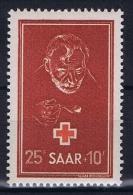 Deutschland Saar , Mi 292 MH/*  1950 - French Zone