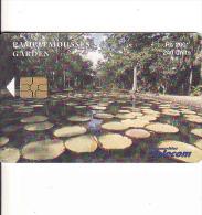 Maurice-Mauritius, Chip Card 240 Units - Maurice