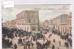 BRINDISI CORSO UMBERTO 1 E CORSO GARIBALDI - Brindisi