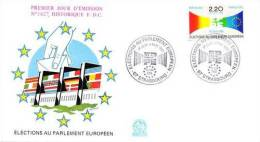 FRANCE 1989 EUROPA SYMPATHY ISSUE  FDC - European Ideas
