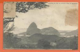 MOL2/499, Rio De Janeiro Visto Do Sylvestre, Précurseur,  Circulée 1908 Timbre Décollé - Rio De Janeiro