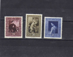 """Liechtenstein (1952)  - """"Tableaux"""" Neufs** - Liechtenstein"""