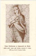 """IMAGE PIEUSE RELIGIEUSE Double  : """" Coeur Douloureux Et Immaculé De Marie Priez Pour Nous """" - Imágenes Religiosas"""