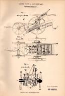 Original Patentschrift - Albert Hass In Greifswald I. Mecklenburg ,1892, Kartoffelerntemaschine , Landwirtschaft , Agrar - Maschinen