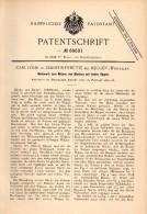 Original Patentschrift - Carl Löhr In Christinenhütte B. Meggen / Lennestadt , 1892 , Walzwerk Für Blech , Maschinenbau - Maschinen