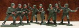 Figurine Lot De 8 Soldats Peint, Première Guerre - Militaires