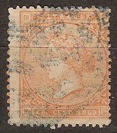 Antillas U 17 (o) Isabel II. 1869 - Cuba (1874-1898)