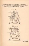 Original Patentschrift - W. Buchmühlen In Stübbenhaus B. Mettmann , 1896 , Dreschmaschine , Landwirtschaft , Agrar !!! - Maschinen