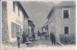 38-LE RIVIER D ALLEMONT-CAFE MOULIA-ANIMATION-TOP-RRR - Autres Communes