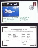 BA   Voyages Seemore Charter Flight London - Nice  April 7, 1980 - Concorde