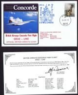 BA First Flight    Graz 0 Linz   March 29, 1981 - Concorde