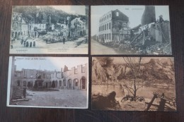 1914-1918 Lot C Cpa 53 Stuks Dinant Namur Zeebrugge Diksmuide Yper Nieuwpoort Visé - Namur
