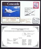 BA First Flight   Linz - London   March 29, 1981 - Concorde