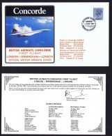 BA   Carrick Travel And Covpak Ltd Charter Flight: London - Birmingham - London May 10, 1981 - Concorde