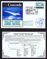 BA   First Flight    London -  Orlando  EPCOT Center Opening Oct 15, 1982 - Concorde