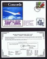 BA   First Flight   Venice - London  Nov 8, 1982 - Concorde