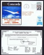BA   First Flight    Paris  -  London    May 7, 1983 - Concorde