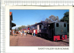 SAINT VALERY SUR SOMME  -  Le Train Touristique - Saint Valery Sur Somme